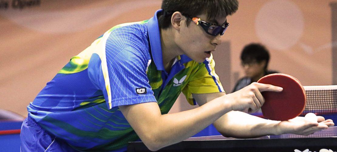Tischtennis Schlägerhaltung