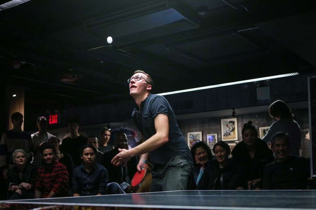 Tischtennis Kleber